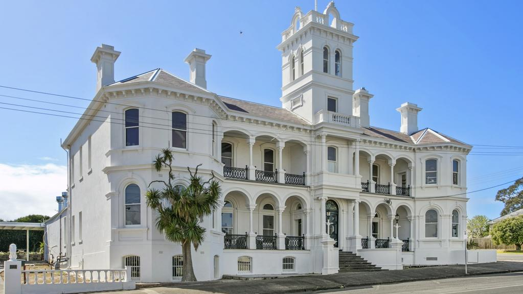 The restored hotel at 34-36 King St, Queenscliff will be auctioned on December 7.