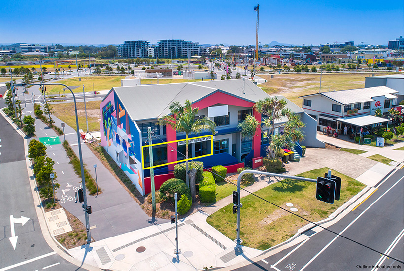 Eye-catching Sunshine Coast building offers blank canvas