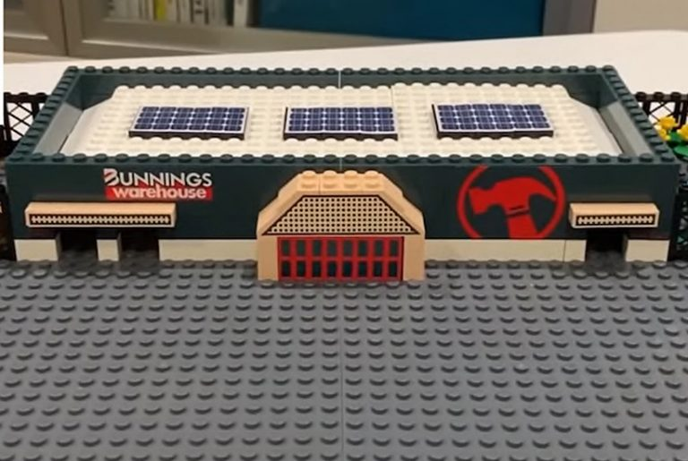 Bunnings Warehouse selling Lego-style stores this Christmas