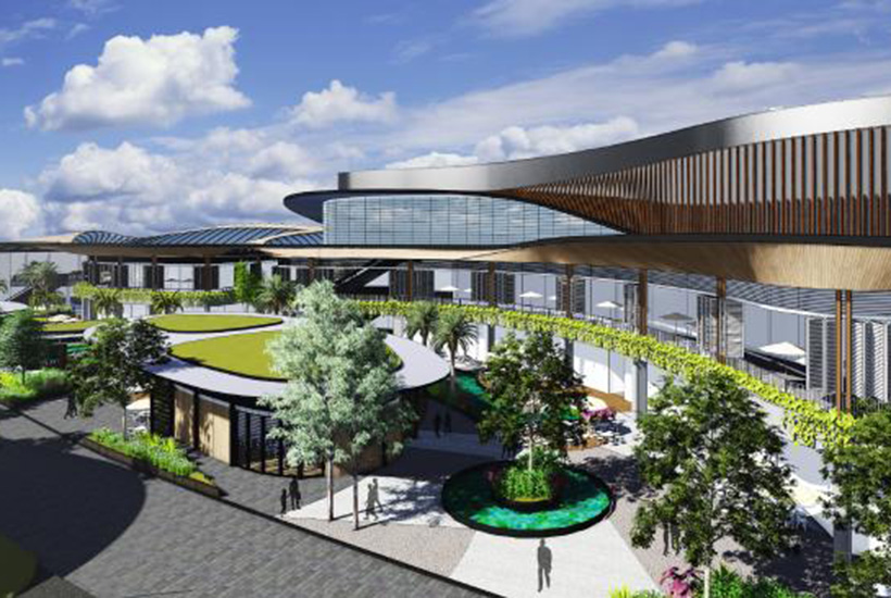 Redevelopment plans were put on ice mid-year at the Garden City Shopping Centre.