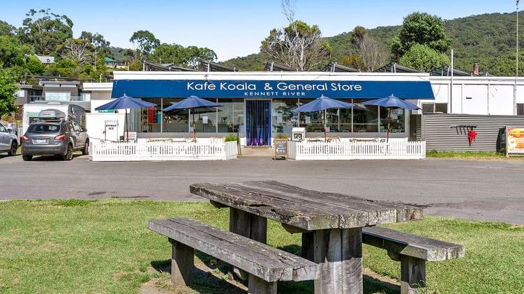 The sale of the Kennett River general store offered a rare commercial freehold opportunity on the Great Ocean Road.