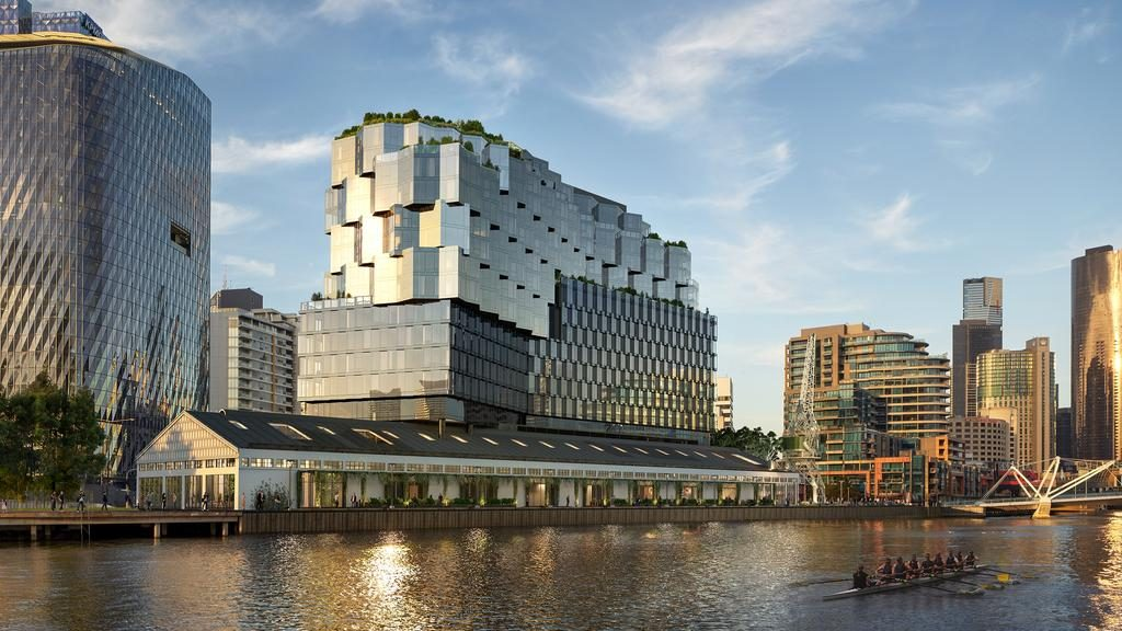 The Seafarers Residences coming to Docklands will give residents extra motivation to see the world.