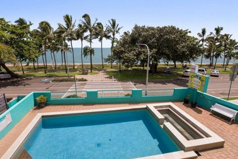 Dive in or develop at Townsville beachfront apartments