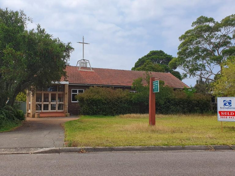 Former Denistone East Uniting Church sold off