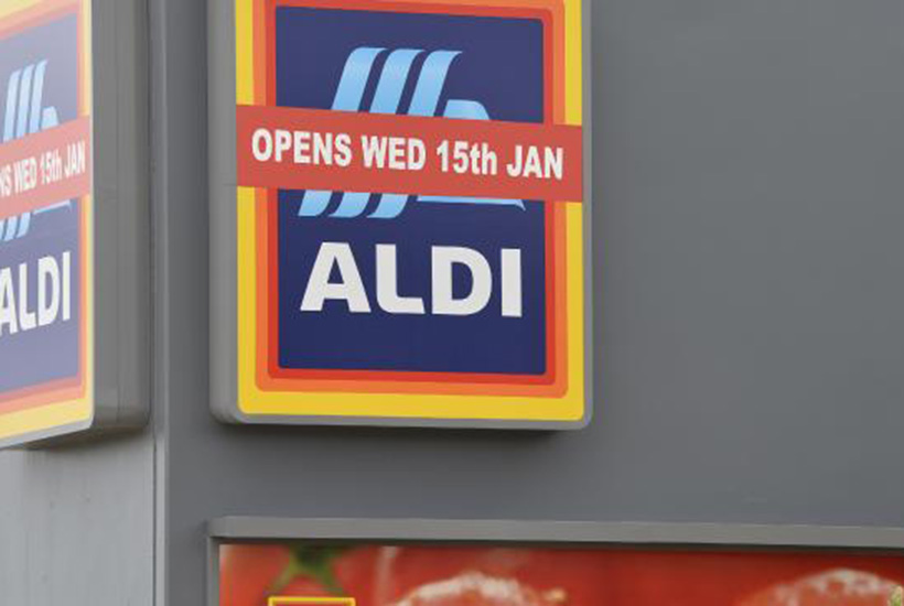 Aldi has grown to about 540 stores nationwide. Picture: Kevin Farmer
