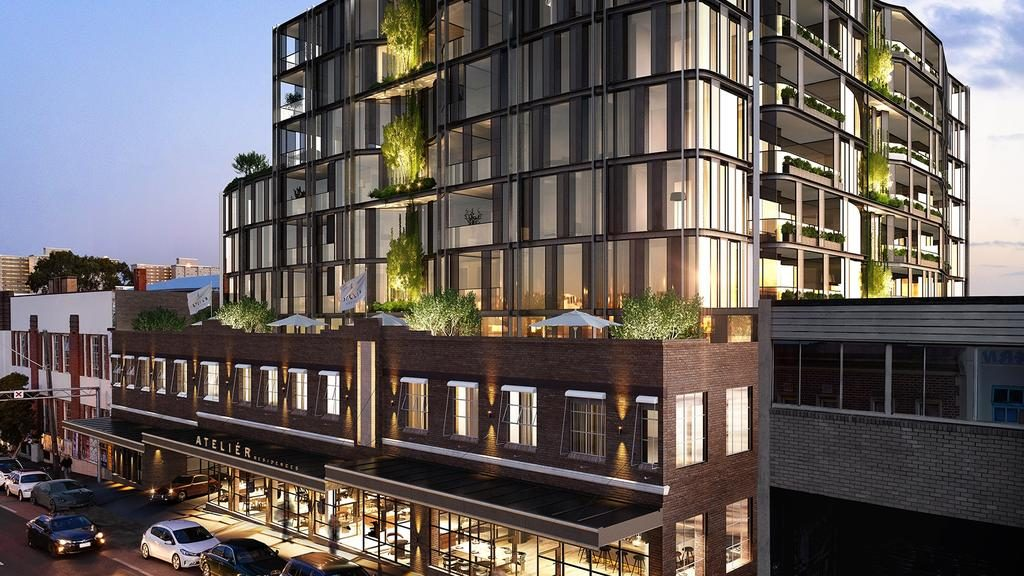 The Atelier Residences on Johnston St, Collingwood will accompany the suburb's first major hotel.