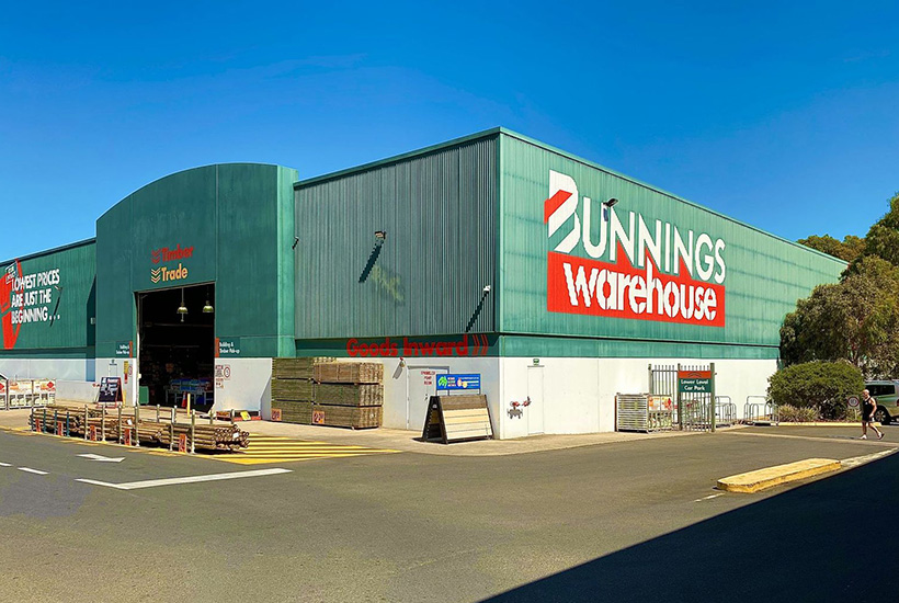 The Bunnings Warehouse at Modbury in South Australia.