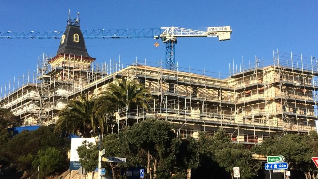 Sorrento's trouble-plagued Continental Hotel has sold again. Picture: Christian Tatman