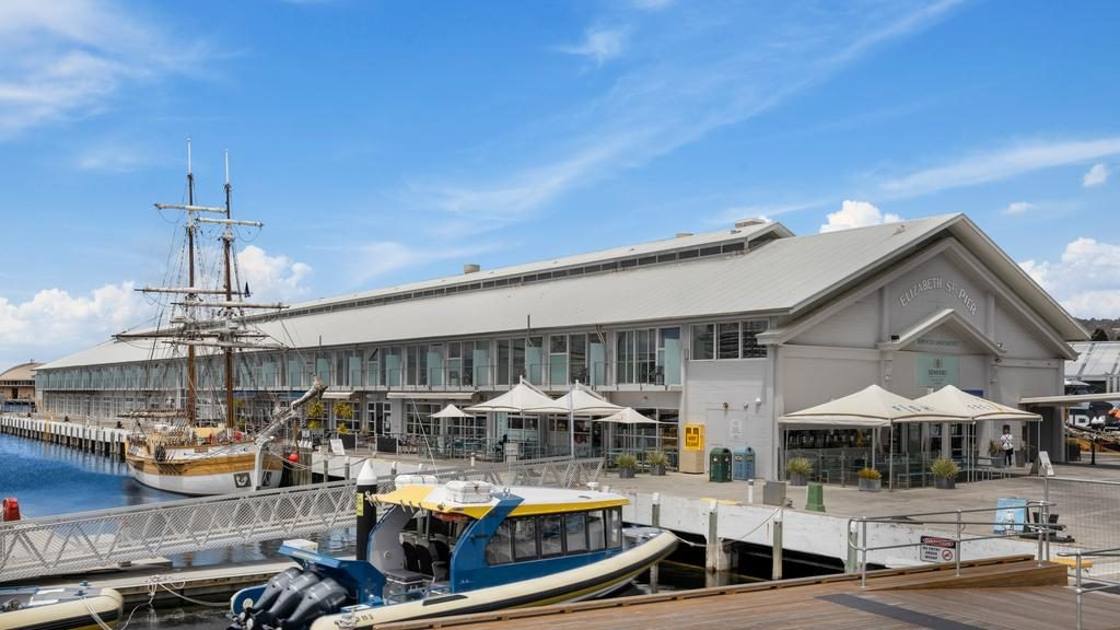 Elizabeth St Pier has been sold to an interstate-based investor. Picture: SUPPLIED