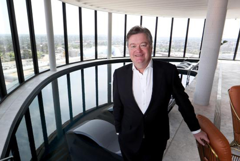 Vicinity centres CEO Grant Kelley. Picture: David Geraghty, The Australian.