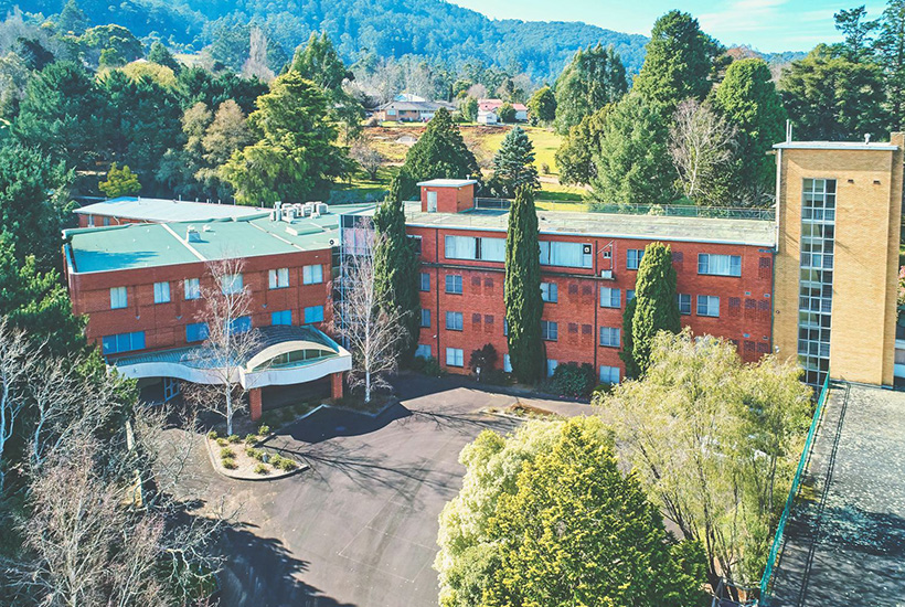 The former Warburton Hospital is on the market.