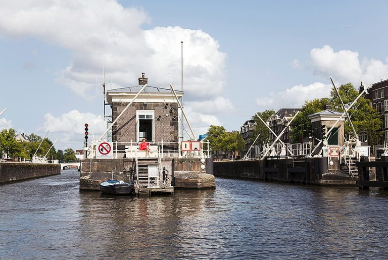 Stay in one of Amsterdam's historic bridge houses