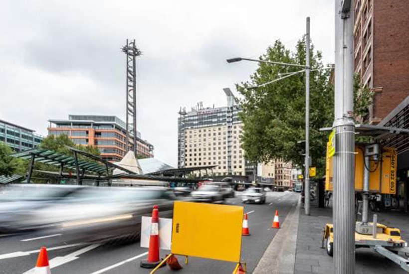 The area around Central Station is earmarked for redevelopment Picture: Monique Harmer