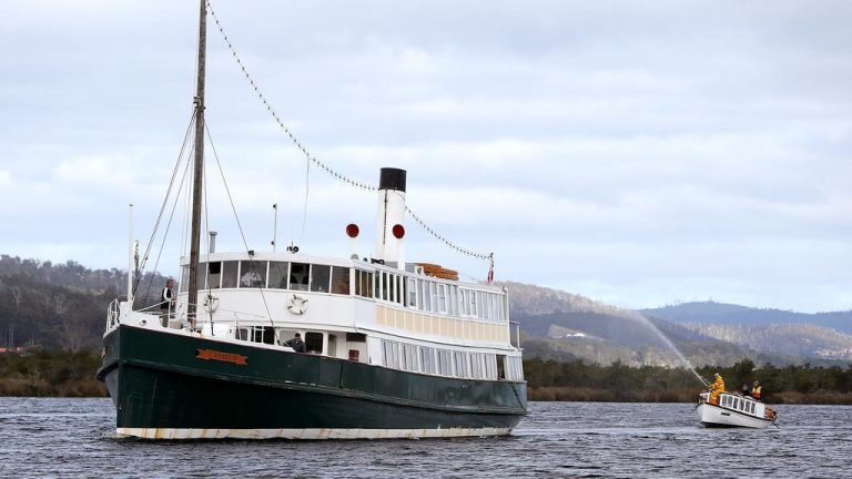 $250,000 buys you this 108-year-old Tasmanian steamship