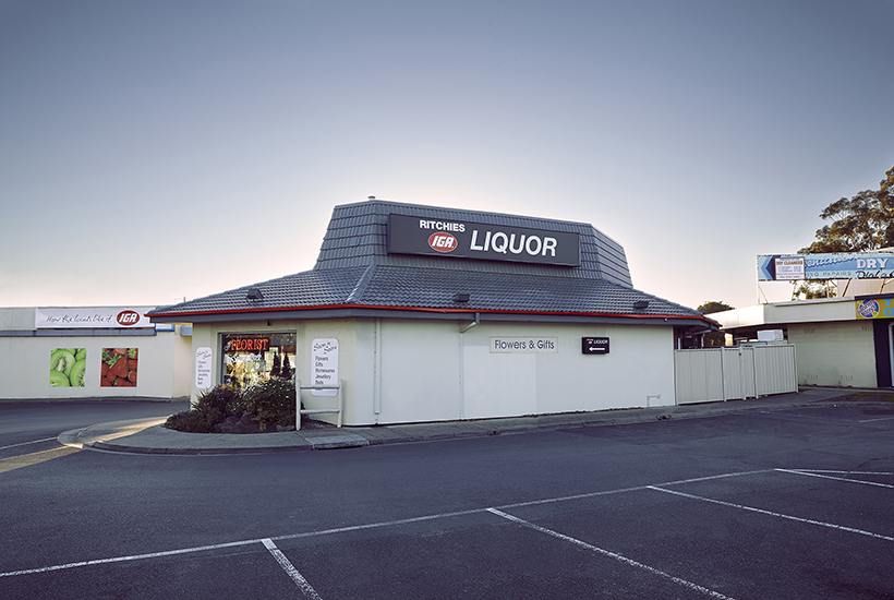 The former Pizza Hut in Frankston, Melbourne, is now a liquor outlet.
