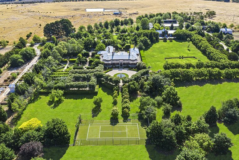 Stunning historic estate among Victoria's top five most-viewed properties