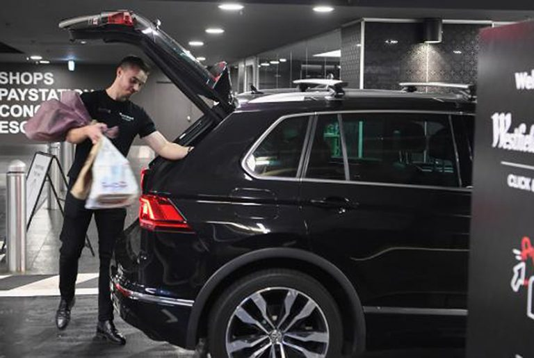Westfield announces drive-through shopping pick-up