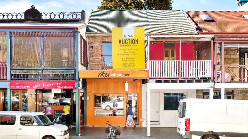 No. 25A Glebe Point Rd in Glebe smashed its reserve price.