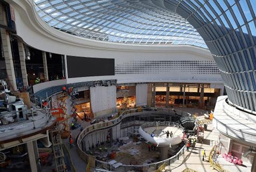 Vicinity Centres' Chadstone shopping mall in Melbourne. Picture: Aaron Francis