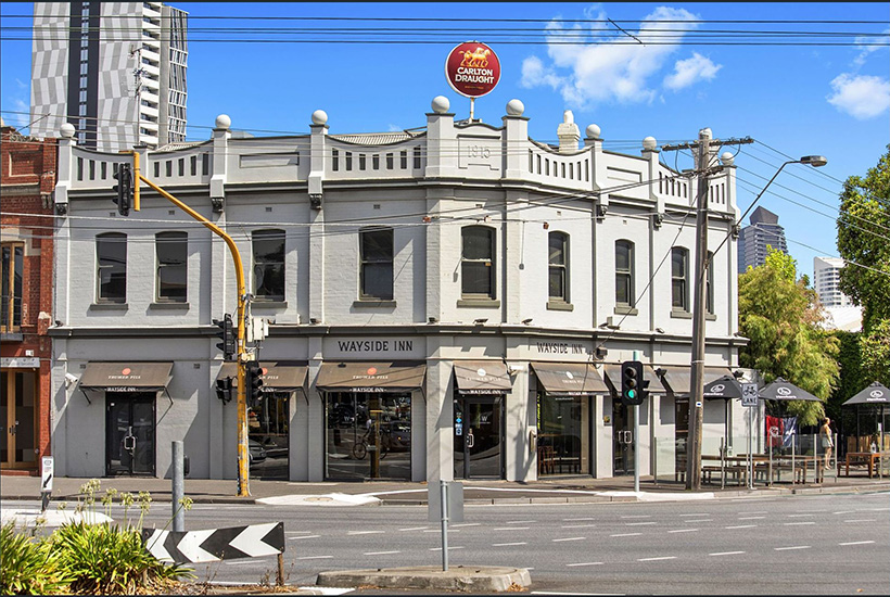 South Melbourne's Wayside Inn is on the market.