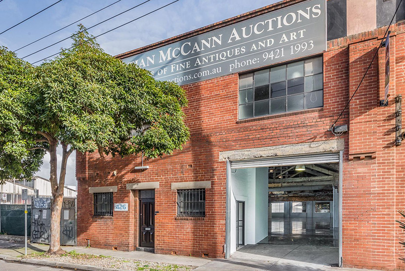 The factory at 426 Burnley St in Richmond was Australia's most-viewed property.
