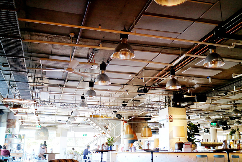 Restaurants and cafes are among the SMEs with the heaviest lighting costs.