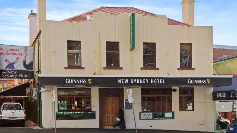 Want to run Hobart's New Sydney Hotel?