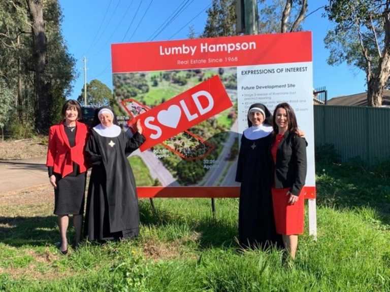 Nuns collect $5m-plus in western Sydney priory sale