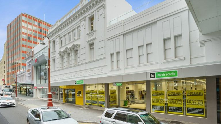 Former Hobart Harris Scarfe store in major leasing opportunity