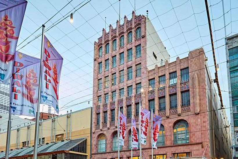 South African department store chain Woolworths Holdings has sold the David Jones menswear store on Melbourne's famed Bourke Street mall.