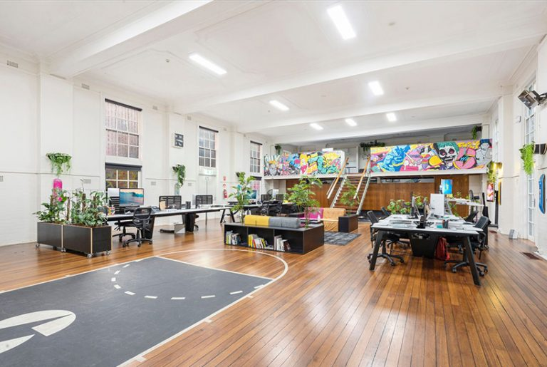 Most-viewed: Sydney office with indoor basketball court a slam dunk