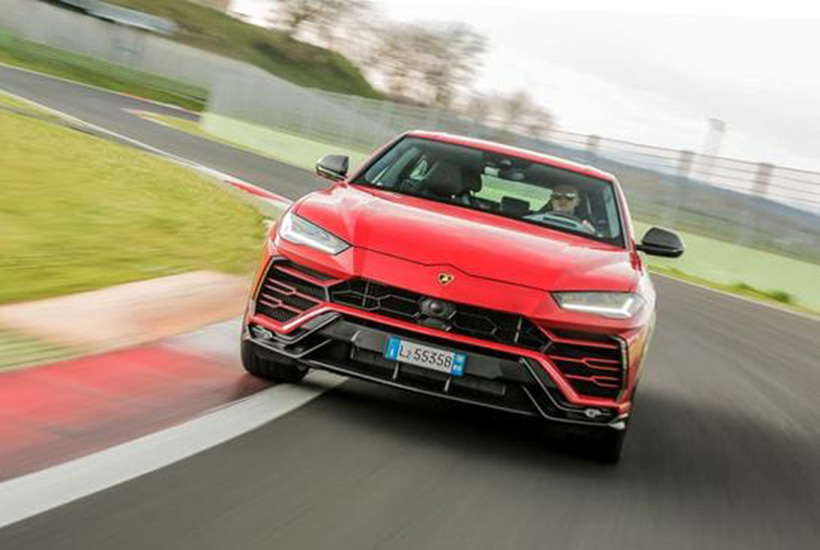 A Lamborghini Urus imilar to the one purchased for Mr Gu. Picture: Supplied