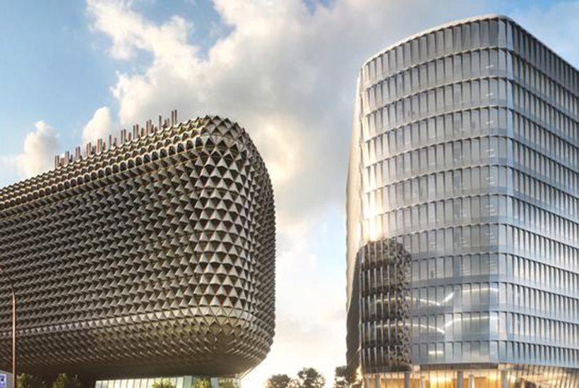 Dexus: The building, also known as SAHMRI 2, is a clinical and research facility in Adelaide's $3.6bn BioMed City precinct. Picture: Supplied