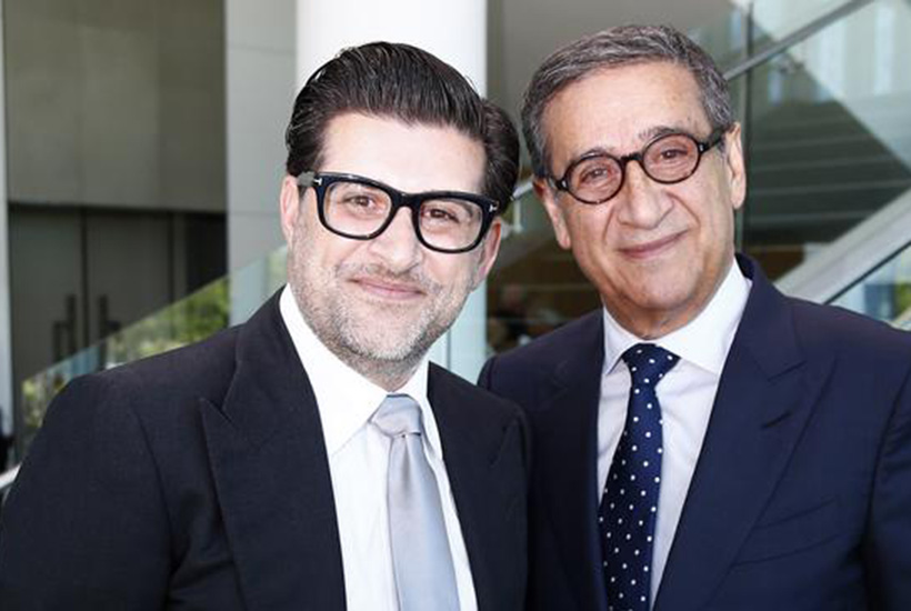 Sahba and Soheil Abedian at the Sunland AGM in 2019. Picture: Tertius Pickard