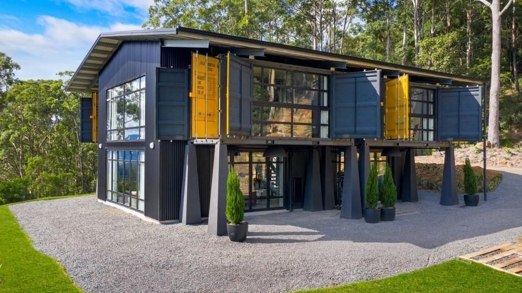 Larry Emdur to turn container home into tourism accommodation