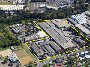 Punchbowl industrial site with 35,000sqm of space listed for first time in 50 years