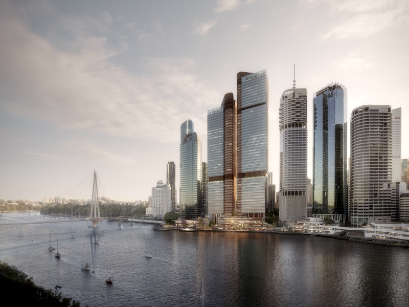 Dexus bets on office recovery with $2.1bln Brisbane development
