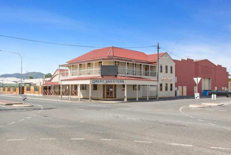 Pubs like the Great Western in Central Queensland will be in high demand on the back of mining, cattle, grain activity. Picture: realcommercial.com.au/for-sale