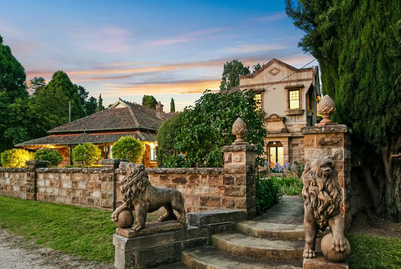 Lidsdale House has hit the market with a price tag of about $2.5million.  Picture: realestate.com.au/buy