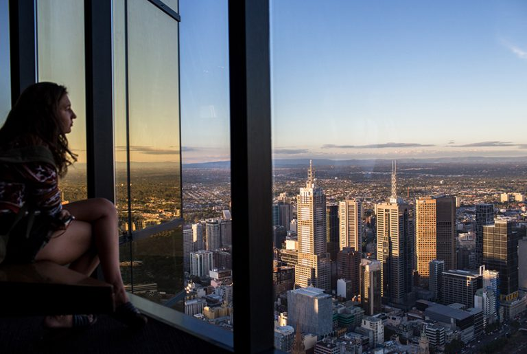 Eureka Tower's Skydeck hits the market