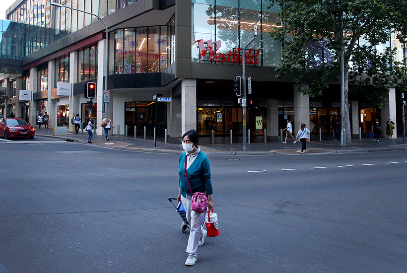 Westfield Parramatta in Sydney. Picture: Getty