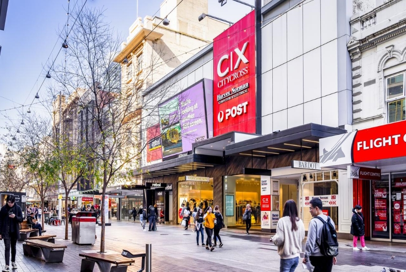 Two major Adelaide retail properties, including City Cross shopping centre, have been sold. Picture: Supplied by CBRE
