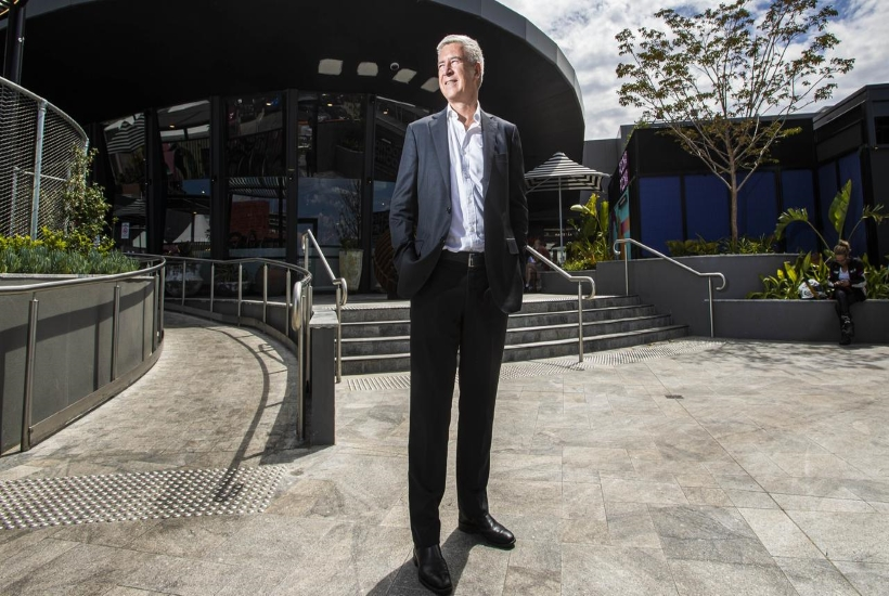 Scentre Group chief executive Peter Allen: 'Education is an opportunity. Childcare is the start of it but we are looking beyond that.' Picture: Aaron Francis