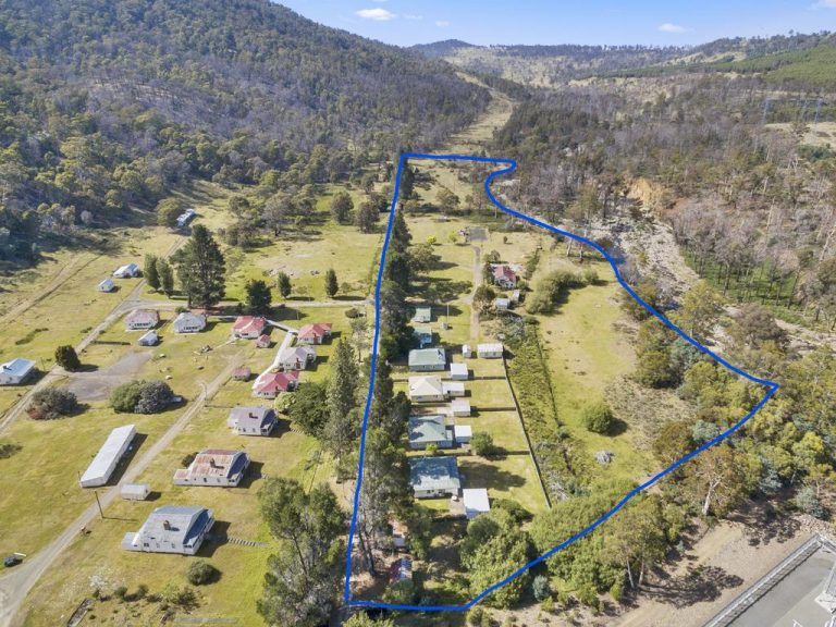 Part of secluded Tassie village on the market at sharp price