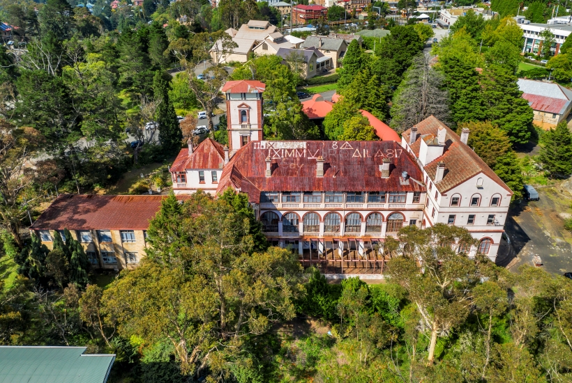 This Katoomba landmark is on the market. Picture: realcommercial.com.au/for-sale