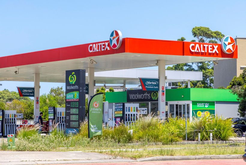 Caltex Woolworths service station