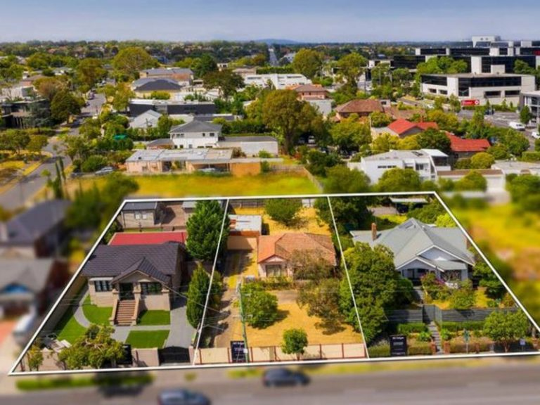 Neighbours join together for extra millions in Hawthorn East