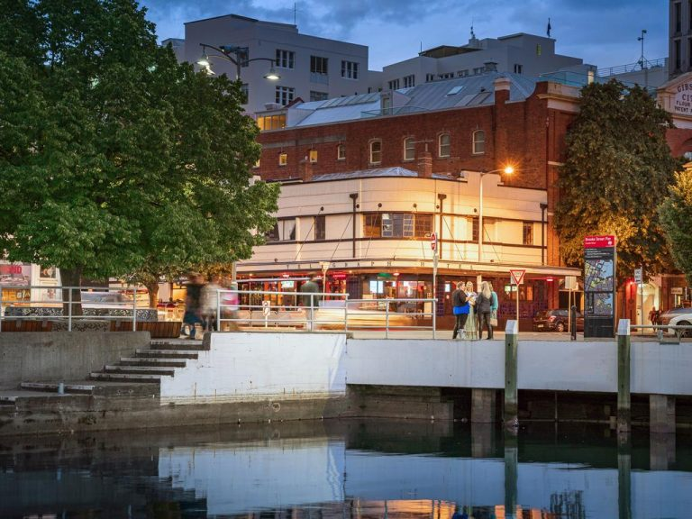 Hobart waterfront hotel hits the market