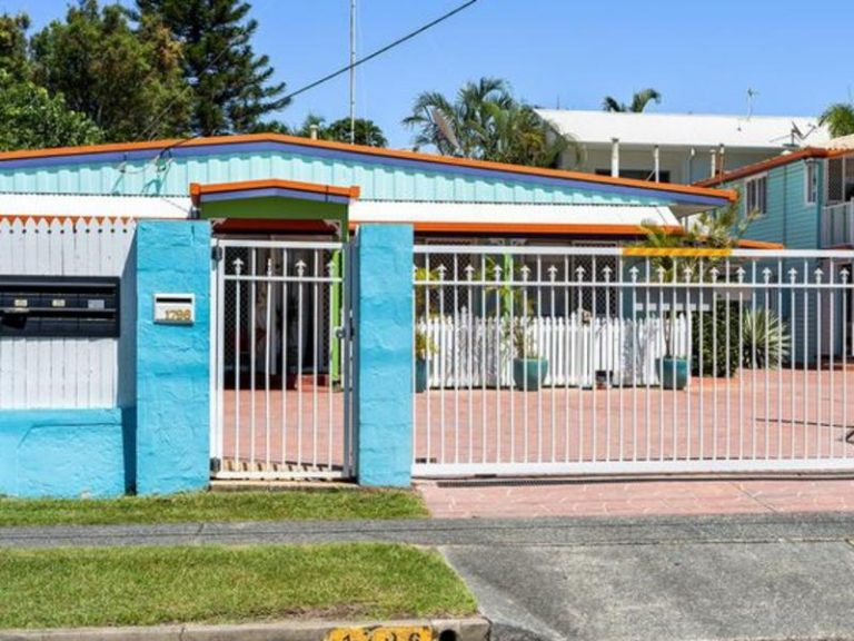 Colourful Burleigh Heads unit block for sale