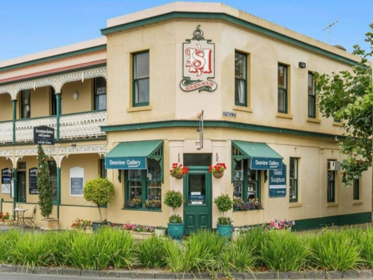 Seaview House: Lifestyle business opportunity in Queenscliff